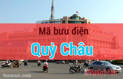 Mã bưu điện Quỳ Châu, Nghệ An