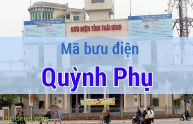 Mã bưu điện Quỳnh Phụ, Thái Bình