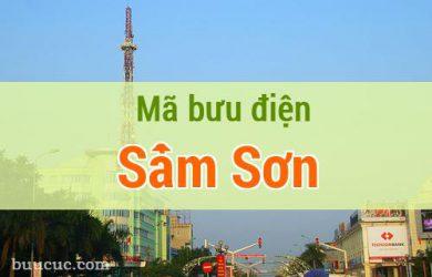 Mã bưu điện Sầm Sơn, Thanh Hoá