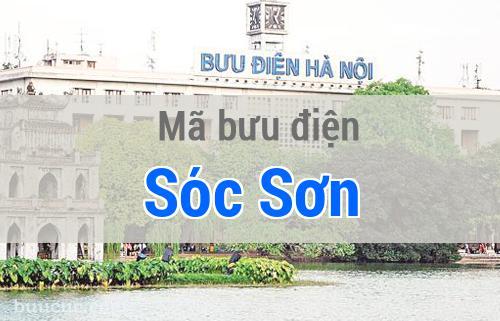 Mã bưu điện Sóc Sơn, Hà Nội