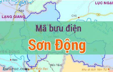 Mã bưu điện Sơn Động, Bắc Giang