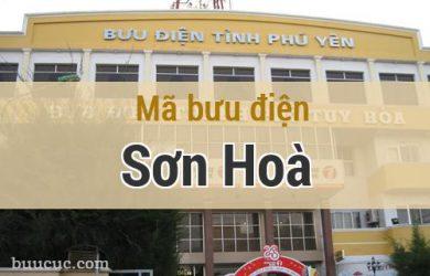 Mã bưu điện Sơn Hoà, Phú Yên