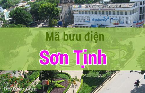 Mã bưu điện Sơn Tịnh, Quảng Ngãi