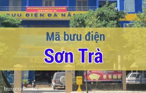 Mã bưu điện Sơn Trà, Đà Nẵng