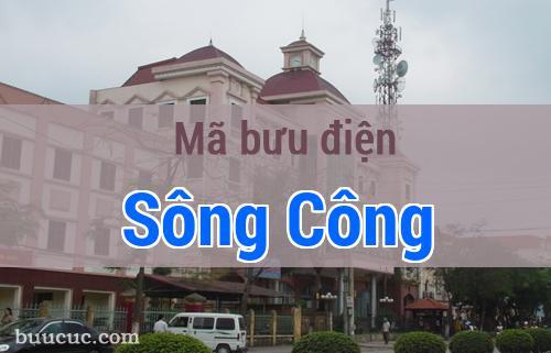 Mã bưu điện Sông Công, Thái Nguyên