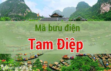 Mã bưu điện Tam Điệp, Ninh Bình