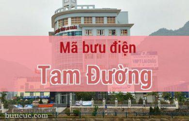 Mã bưu điện Tam Đường, Lai Châu