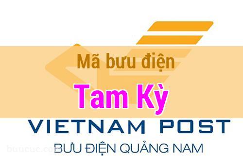 Mã bưu điện Tam Kỳ, Quảng Nam