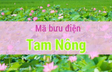 Mã bưu điện Tam Nông, Đồng Tháp
