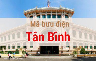 Mã bưu điện Tân Bình, Hồ Chí Minh