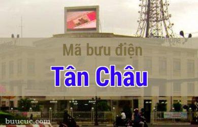 Mã bưu điện Tân Châu, Tây Ninh