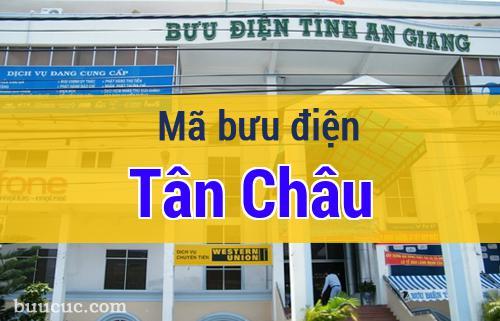 Mã bưu điện Tân Châu, An Giang