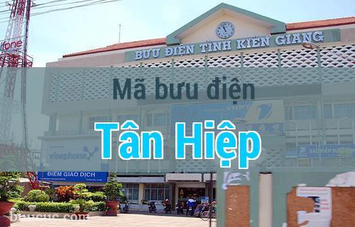 Mã bưu điện Tân Hiệp, Kiên Giang