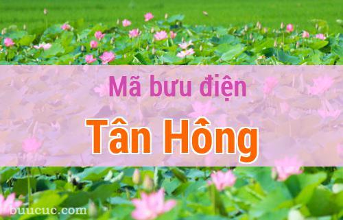 Mã bưu điện Tân Hồng, Đồng Tháp