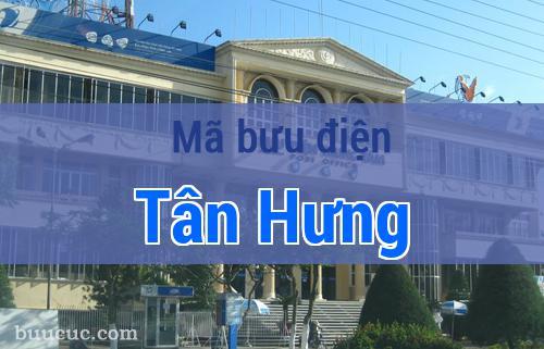 Mã bưu điện Tân Hưng, Long An
