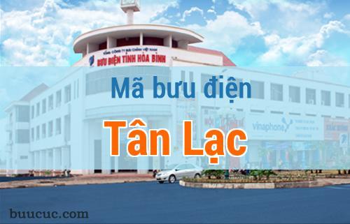 Mã bưu điện Tân Lạc, Hoà Bình