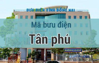 Mã bưu điện Tân phú, Đồng Nai