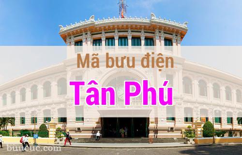 Mã bưu điện Tân Phú, Hồ Chí Minh
