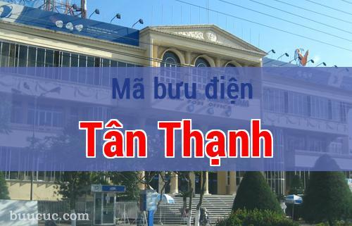Mã bưu điện Tân Thạnh, Long An