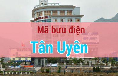 Mã bưu điện Tân Uyên, Lai Châu
