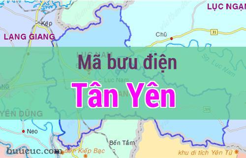 Mã bưu điện Tân Yên, Bắc Giang