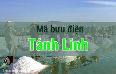 Mã bưu điện Tánh Linh, Bình Thuận