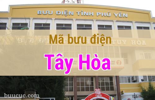 Mã bưu điện Tây Hòa, Phú Yên