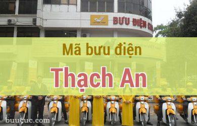 Mã bưu điện Thạch An, Cao Bằng