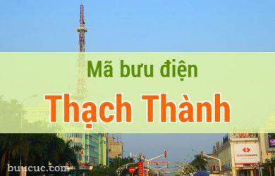 Mã bưu điện Thạch Thành, Thanh Hoá