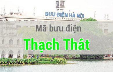 Mã bưu điện Thạch Thất, Hà Nội