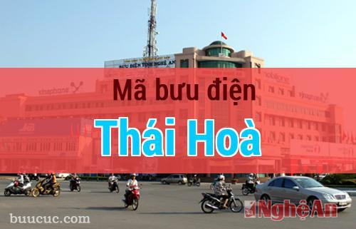 Mã bưu điện Thái Hoà, Nghệ An