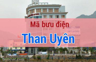 Mã bưu điện Than Uyên, Lai Châu