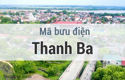 Mã bưu điện Thanh Ba, Phú Thọ