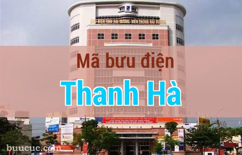 Mã bưu điện Thanh Hà, Hải Dương