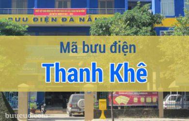 Mã bưu điện Thanh Khê, Đà Nẵng