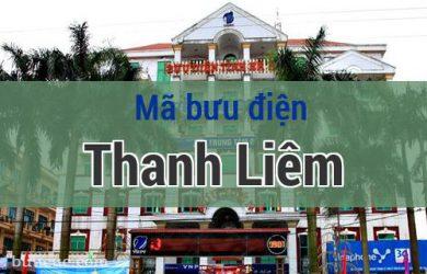Mã bưu điện Thanh Liêm, Hà Nam