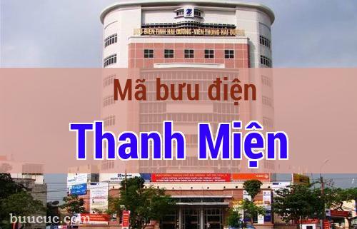 Mã bưu điện Thanh Miện, Hải Dương