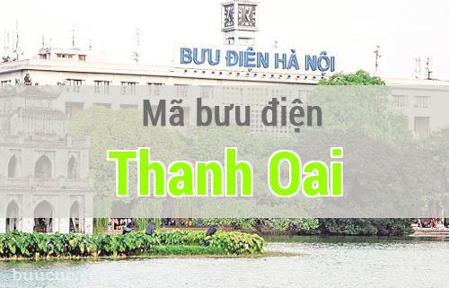 Mã bưu điện Thanh Oai, Hà Nội