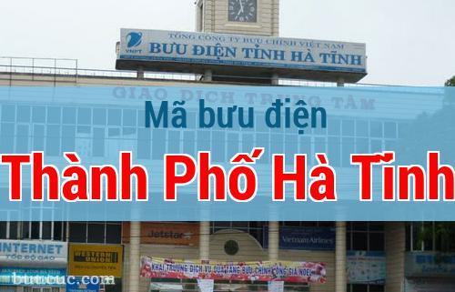Mã bưu điện Thành Phố Hà Tĩnh, Hà Tĩnh