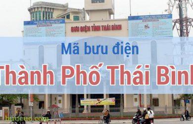 Mã bưu điện Thành Phố Thái Bình, Thái Bình