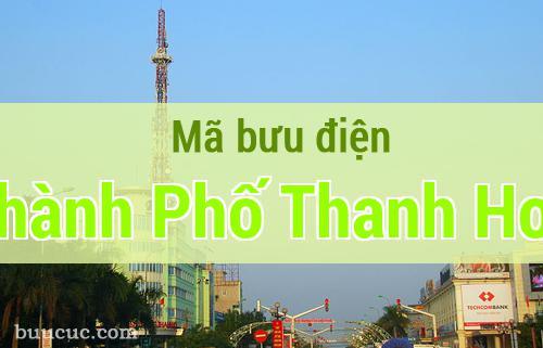 Mã bưu điện Thành Phố Thanh Hoá, Thanh Hoá
