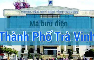 Mã bưu điện Thành Phố Trà Vinh, Trà Vinh