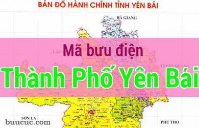 Mã bưu điện Thành Phố Yên Bái, Yên Bái
