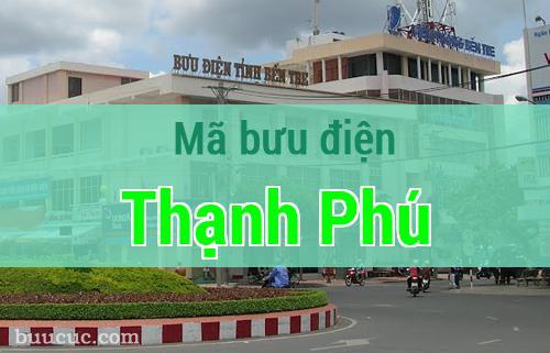 Mã bưu điện Thạnh Phú, Bến Tre