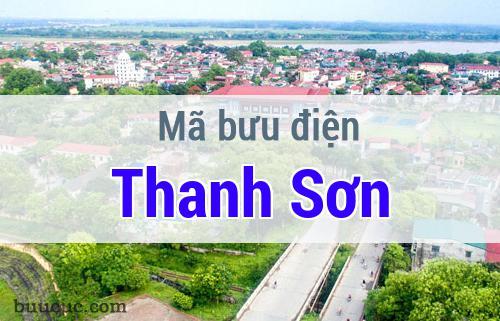 Mã bưu điện Thanh Sơn, Phú Thọ