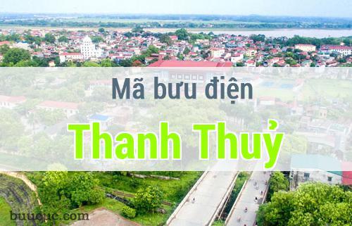 Mã bưu điện Thanh Thuỷ, Phú Thọ