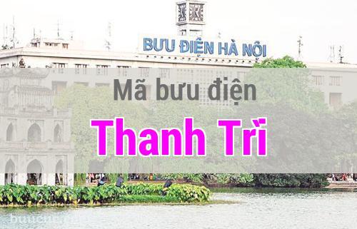Mã bưu điện Thanh Trì, Hà Nội