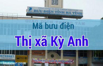 Mã bưu điện Thị xã Kỳ Anh, Hà Tĩnh