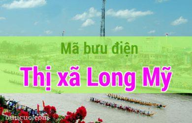 Mã bưu điện Thị xã Long Mỹ, Hậu Giang