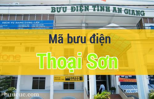 Mã bưu điện Thoại Sơn, An Giang